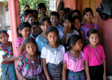 Mayan scholarship students
